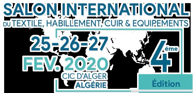 bbb24d27a45d L événement incontournable pour créer et renforcer vos relations  Commerciales et pour investir dans le textile et le Cuir en Algérie.